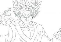 Dragon Ball Super Coloring Pages Goku Printable Coloring Page For Kids