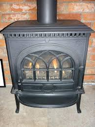 gas no 3 traditional cast iron wood burner style used burning fireplace insert with blower stove