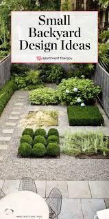 Small Backyard Design Ideas Small Backyard Design Ideas Inspiration Apartment Therapy
