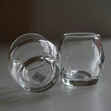 handblown modern shot glasses set of four by huta