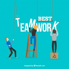 working as a team teamwork vectors photos and psd files free download
