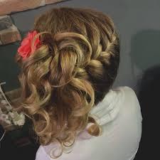 Belle De Coiffure Mariage Cheveux Mi Long Pour Enfant Idee