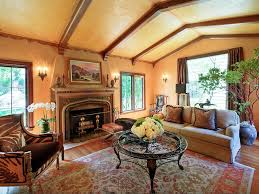 Vaulted Ceiling Living Room Design Brighten Up The Home With Mediterranean Living Room Ideas