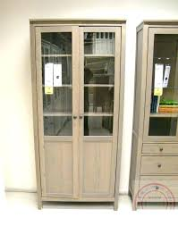 glass door cabinet assembly with drawers white sliding hemnes instructions