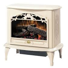 cream electric fireplace stove duraflame 3d infragen