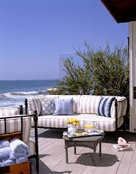 striped cushions with fade resistant outdoor bench cushions patio traditional and sunbrella fabric