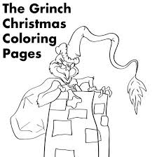 Small Picture Grinch Christmas Printable Coloring Pages Holidappy