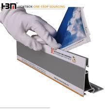 Hot Selling 80mm Aluminium Led Sign Extrusion Flex Face Light Box Frame Frameless Buy Frameless Extrusion Profile Aluminium Led Sign Extrusion Flex