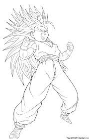 Small Picture Teen Goku Ssj4 ColoringGokuPrintable Coloring Pages Free Download