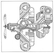 Airplane Coloring Pages For Adults Airplane