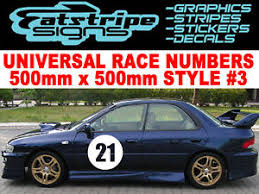 image is loading subaru door race numbers wrx sti clic rally