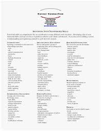 Transferable Skills Worksheet 77 Cute Figure Of Skills To List On Resume Best Of Resume