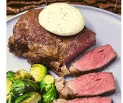 air fryer new york strip steak with