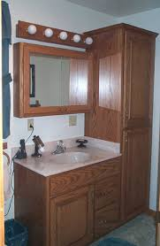 modern bathroom linen cabinets. Magnificent Bathroom Vanities With Linen Cabinet Genwitch At Modern Cabinets E