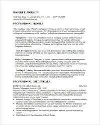 Business School Resume Template