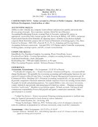 Samples Accounting Resumes Examples Resumes Accounting Resume