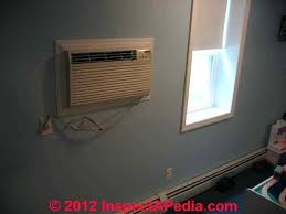 thru wall air conditioner through wall air conditioner supported by frame c installing wall air conditioner