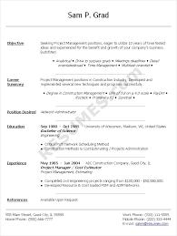Sample Resume Doc