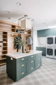 laundry room furniture. This Mighty Laundry Room Is Housed Within The Master Bedroom Closet Which Has To Make Incredibly Easy, Right? Studio McGee Took Down Two Walls Furniture O