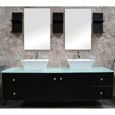 furniture sink vanity. design element contemporary wall mount double sink vanity vessel furniture