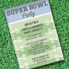 Super Bowl Invitation Template Download Print