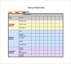 Work Plan Formats 19 Work Plan Templates Free Sample Example Format Download