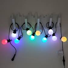 colour changing led festoon lights multi colour fairy lights by qbis add