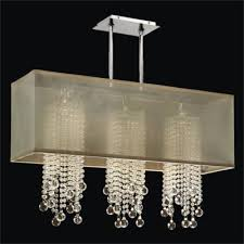rectangular shade chandelier glass bead chandelier omni 627b