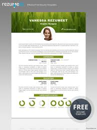 Free Creative Resume Templates Microsoft Word - Resume Sample