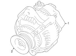 genuine toyota fj cruiser alternator  click thumbnails to enlarge genuine toyota parts