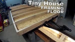 Small Picture Tiny house on wheels part 11 Floor framing and bottom board