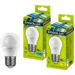 <b>Светодиодная лампа</b> (LED) E27 <b>Ergolux LED</b>-<b>G45</b>-<b>7W</b>-<b>E27</b>-<b>4K</b> ...