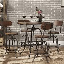 iron industrial furniture. berwick iron industrial adjustable counter height high back stools set of 2 by inspire q classic free shipping today overstockcom 18016299 furniture d