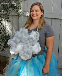 this woman is dressed as a storm cloud but wver you get where i m going via blebreeblog