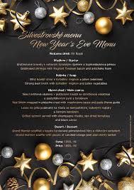 New Year Menu Christmas And New Years Eve Dinner 2019 Kontakt At The