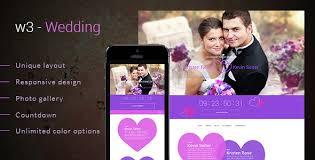 Wedding Website Template Amazing W48 Wedding By Samirkaila ThemeForest