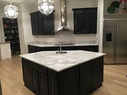 bonney lake wa black cabinet kitchen countertop granite marble quartz