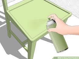 how to spray paint furniture 12 steps