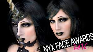 nyx spain face awards enter unicornio fantasía maquillaje black unicorn makeup vfashionland you