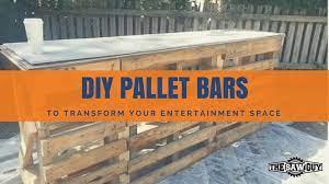 15 epic pallet bar ideas to transform