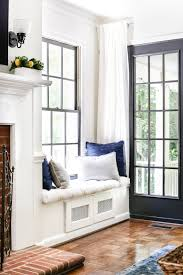 diy window seat from a kitchen cabinet  bless'er house