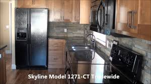 Triple Wide Manufactured Home Model 1271ct Skyline Factory Direct Homes  Mcminnville Oregon Youtube. painting walls ...