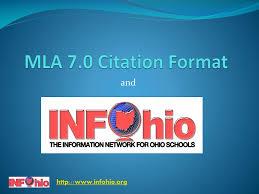Ppt Mla 70 Citation Format Powerpoint Presentation Id5713730