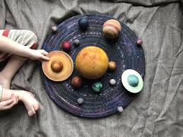 After you've punched holes, show your child how to lace the holes with yarn or string. Free Solar System Printable Coloring Pages To Scale 3 Boys And A Dog