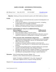 Experienced Resume Sample Resume Examples For Experienced Professionals Resume Template For 29