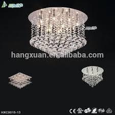 modern round crystal chandelier whole popular big modern round crystal led light chandelier