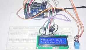 arduino based humidity and temperature measurement using dht11 sensor humidity and temperature measurement using arduino