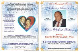 Death Obituary Sample Template