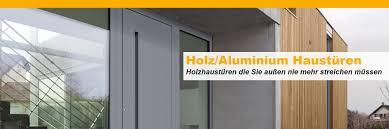 Moderne Holz Aluminium Haustüren Direkt Vom Fachbetrieb Mit Aufmaß