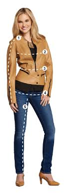 Mens Womens Size Charts Jackets More Wilsons Leather